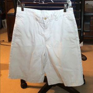 Cream khaki shorts